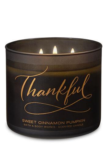 Sweet Cinnamon Pumpkin 3-Wick Candle - Bath And Body Works