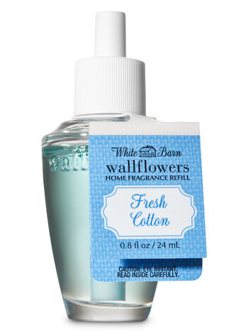 Fresh Cotton Wallflowers Fragrance Refill - Bath And Body Works