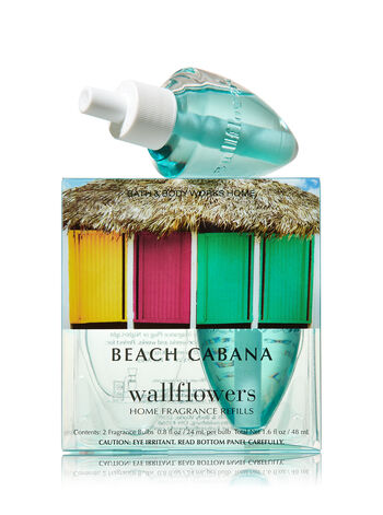 Beach Cabana Wallflowers 2-Pack Refills - Bath And Body Works