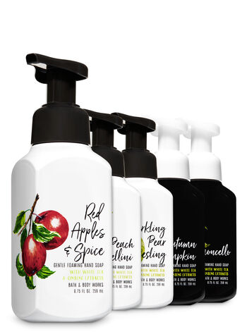 Natural Favorites Gentle Foaming Hand Soap, 5-Pack - Bath And Body Works