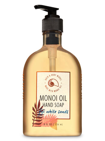 Fiji White Sands Hand Soap With Monoi Oil - Bath And Body Works