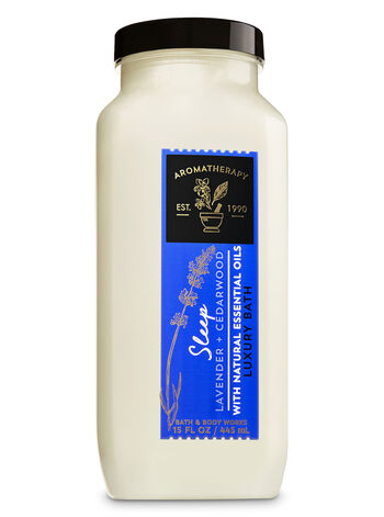 Aromatherapy Sleep - Lavender & Cedarwood Bubble Bath - Bath And Body Works