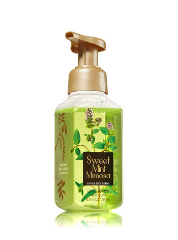 Sweet Mint Mimosa Gentle Foaming Hand Soap - Bath And Body Works
