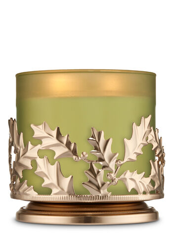 Holly Jolly 3-Wick Candle Sleeve