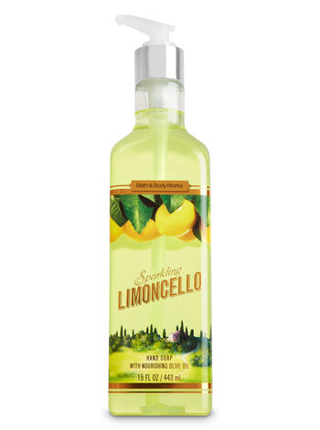 Sparkling Limoncello Luxury Hand Soap - Bath And Body Works