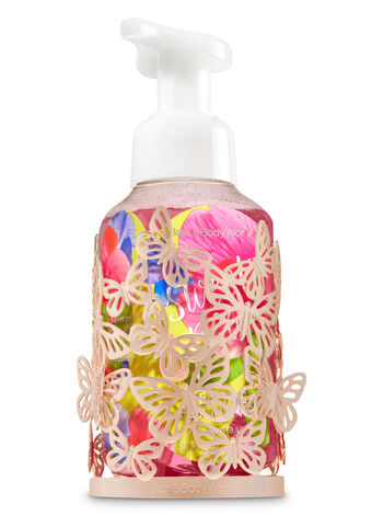 Gold Butterfly Hand Soap Sleeve