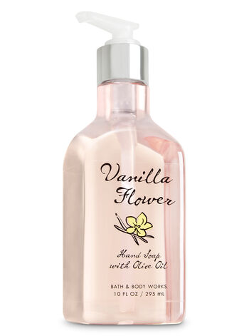Vanilla Flower Hand Soap with Olive Oil - Bath And Body Works