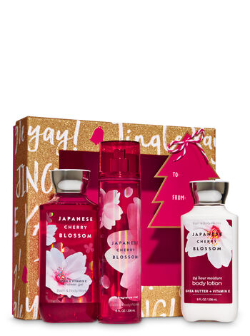 Japanese Cherry Blossom Jingle Box Gift Set