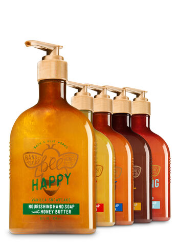 Bee Merry 5-pack Nourishing Hand Soap with Honey Butter - Bath And Body Works