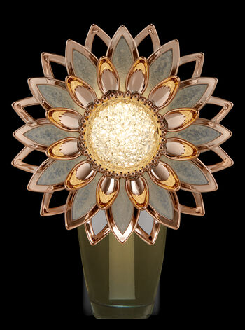 Rose Gold Flower Nightlight Wallflowers Fragrance Plug