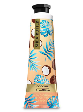 Signature Collection Coconut Vanilla Hand Cream - Bath And Body Works