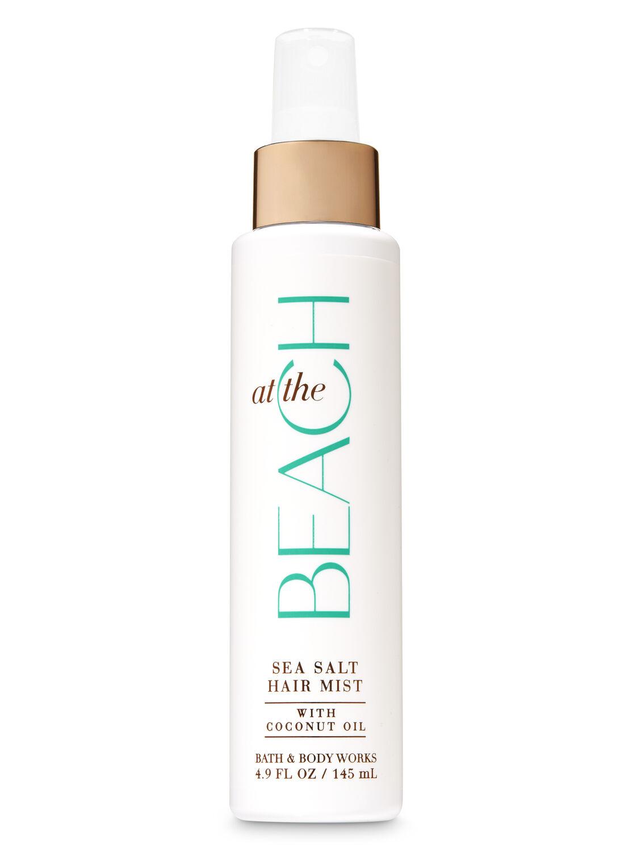 hair care bath body works signature collection at the beach sea salt hair mist bath and body works