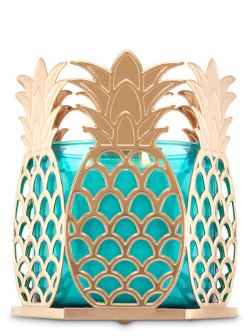 Golden Pineapple 3-Wick Candle Sleeve