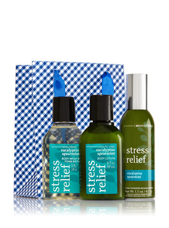 Eucalyptus Spearmint Little Luxuries Gift Kit - Bath And Body Works