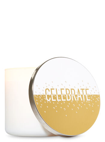 Celebrate 3-Wick Candle Lid Magnet - Bath And Body Works