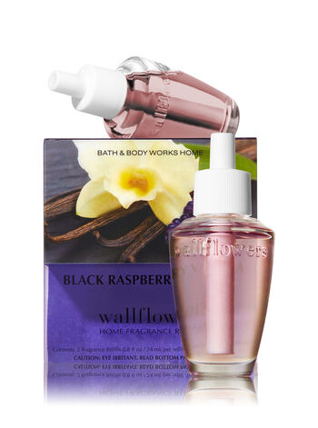 Black Raspberry Vanilla Wallflowers 2-Pack Refills - Bath And Body Works