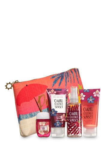Oahu Coconut Sunset Paradise Gift Set