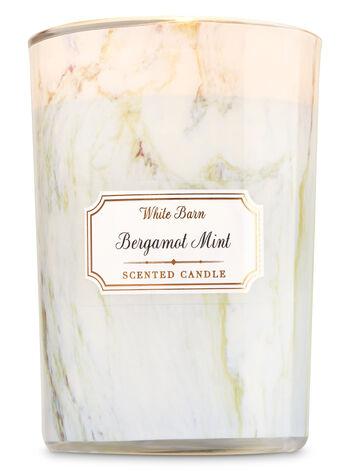 Bergamot Mint Medium Candle - Bath And Body Works