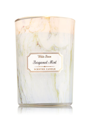 Bergamot Mint Medium Candle - Bath And Body Works