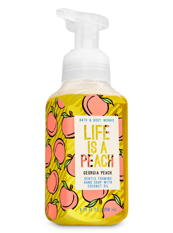 Georgia Peach Gentle Foaming Hand Soap - Bath And Body Works