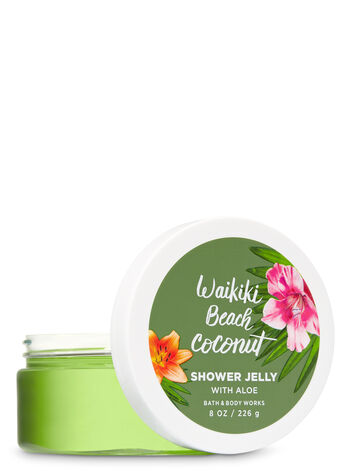 Signature Collection Waikiki Beach Coconut Shower Jelly - Bath And Body Works
