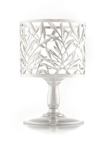 Vine Leaf Pedestal 3-Wick Candle Sleeve