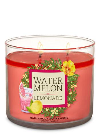 Watermelon Lemonade 3-Wick Candle - Bath And Body Works