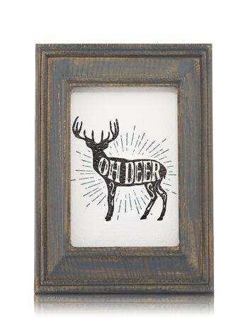 Wooden Oh Deer Frame Wallflowers Fragrance Plug