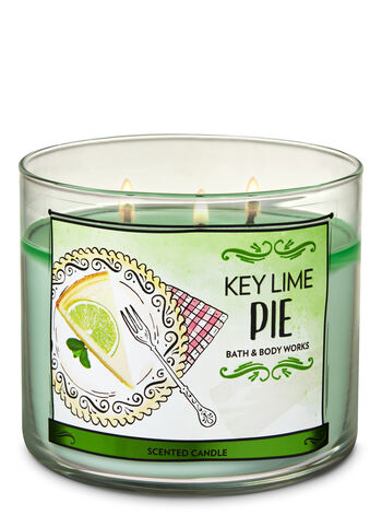 Key Lime Pie 3-Wick Candle - Bath And Body Works