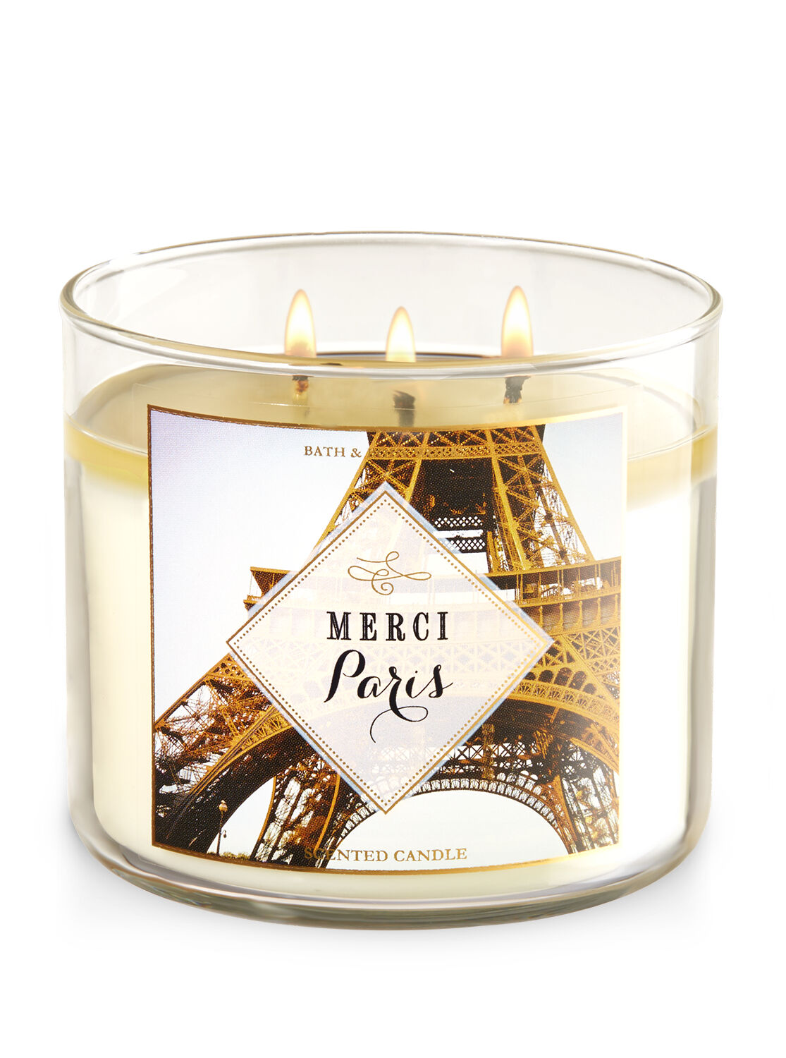 Merci Paris 3 Wick Candle Bath And Body Works