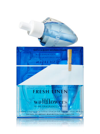 Fresh Linen Wallflowers 2-Pack Refills - Bath And Body Works