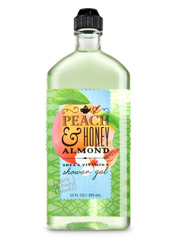 Signature Collection Peach & Honey Almond Shower Gel - Bath And Body Works