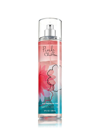 Signature Collection Pink Chiffon Fine Fragrance Mist - Bath And Body Works
