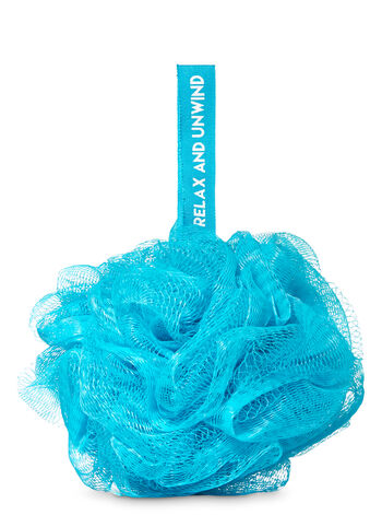 Blue Mesh Shower Sponge - Bath And Body Works