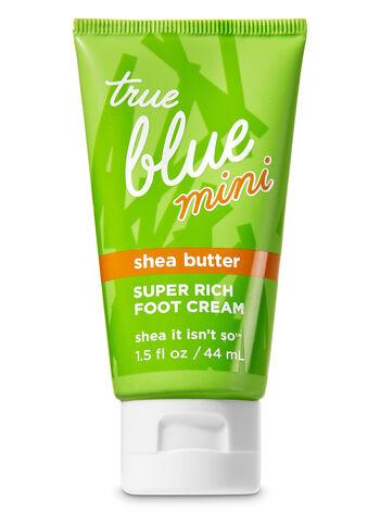 True Blue Spa Shea It Isn't So Mini Super Rich Foot Cream - Bath And Body Works