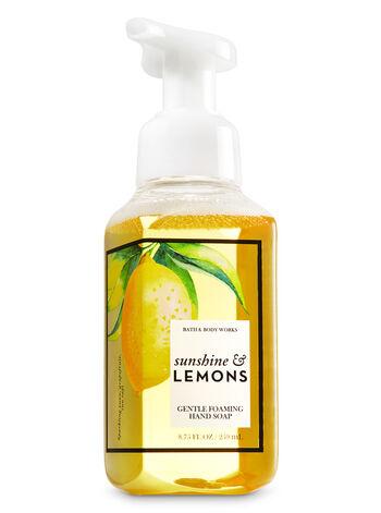 Sunshine & Lemons Gentle Foaming Hand Soap - Bath And Body Works