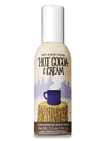 Hot Cocoa & Cream Concentrated Room Spray - Bath And Body Works