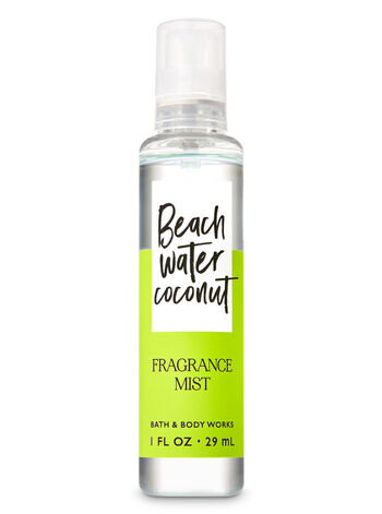 Signature Collection Beach Water Coconut Travel Size Fine Fragrance Mist - Bath And Body Works