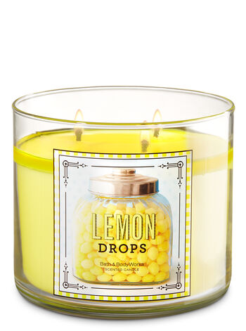 Lemon Drops 3-Wick Candle - Bath And Body Works