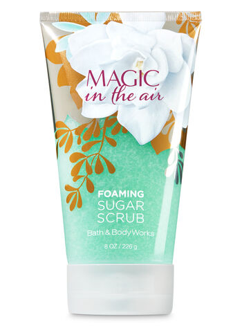 Signature Collection Magic in the Air Foaming Sugar Scrub - Bath And Body Works
