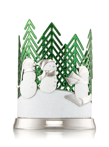 Sledding Snowmen Hand Soap Sleeve