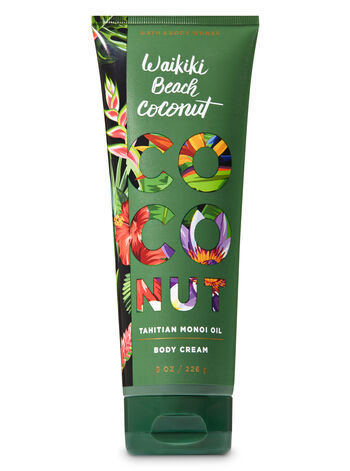 Signature Collection Waikiki Beach Coconut Body Cream - Bath And Body Works