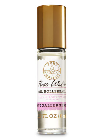 Rose Water Oil Rollerball - Bath And Body Works