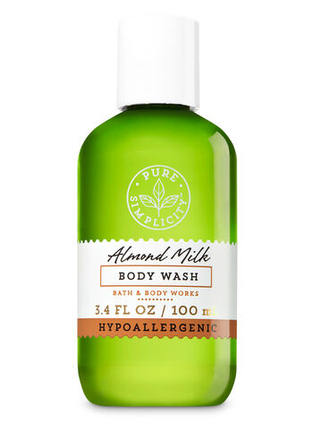 Almond Milk Travel Size Body Wash - Bath And Body Works