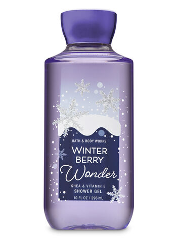 Signature Collection Winter Berry Wonder Shower Gel - Bath And Body Works