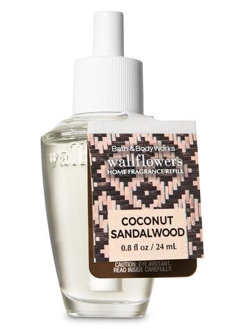 Coconut Sandalwood Wallflowers Fragrance Refill - Bath And Body Works