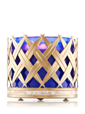 Palm Leaves 3-Wick Candle Sleeve