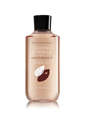Signature Collection Almond & Vanilla Shower Gel - Bath And Body Works