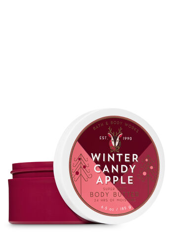 Signature Collection Winter Candy Apple Body Butter - Bath And Body Works