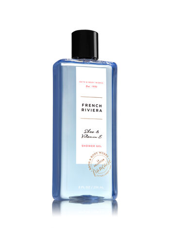 Signature Collection French Riviera Shower Gel - Bath And Body Works